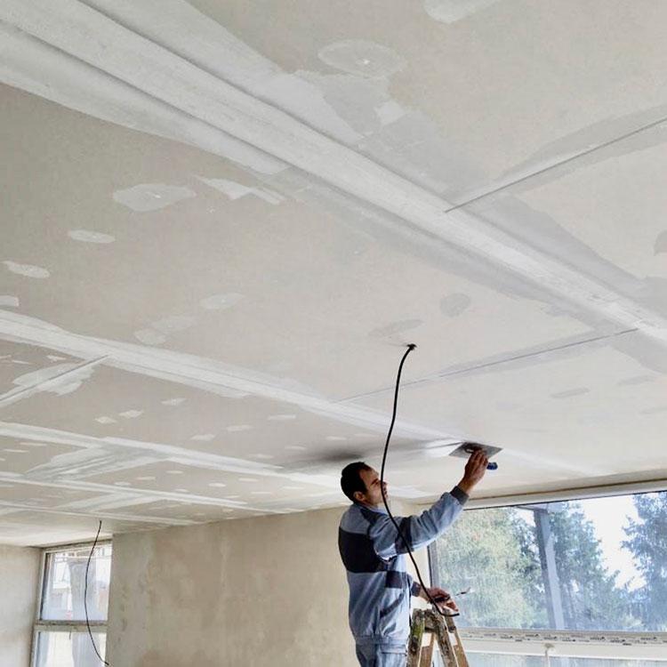 Montáž sádrokartonových stropů